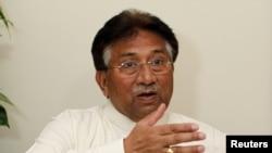 ပါကစၥတန္စစ္အုပ္ခ်ဳပ္ေရးအႀကီးအကဲေဟာင္း Pervez Musharraf ။