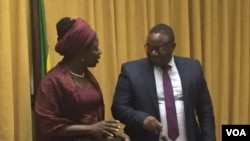 Labour and Social Welfare Minister Sakai Nzenza and ICT Minister Kazembe Kazembe