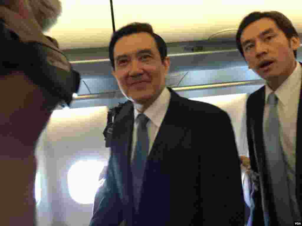 马习会即将登场马英九总统抵达新加坡 马英九:今天是ㄧ个重要的任务每ㄧ个阶段都要做好(美国之音李逸华)