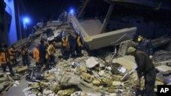 تزیید شمار قربانیان زلزلۀ اخیر در ترکیه