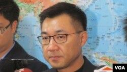 台灣在野黨國民黨立委江啟臣(美國之音張永泰拍攝)