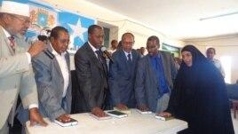 Dhaarinta Golaha Wasiirada Cusub ee Somalia