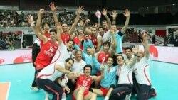 نبرد ایران با بزرگان والیبال
