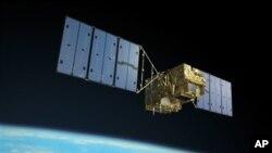 2009년 일본이 쏘아올린 인공위성 '이부키'. (자료사진)