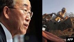 Ban Ki Mun Suriyada insan hüquqlarının pozulması hallarına dair məlumatların narahatedici olduğunu deyib
