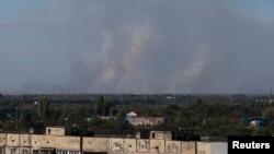 Ukrayna'da 5 Eylül'de varılan ateşkese rağmen Donetsk'teki topçu ateşi, ateşkes öncesini aratmıyor