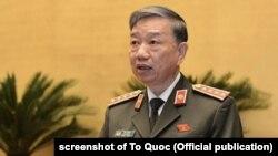 Bộ trưởng Công an Việt Nam Tô Lâm ủng hộ bỏ sổ hộ khẩu ngay giữa năm 2021