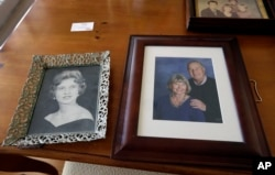 Mary Knowlton is shown in family photos in Punta Gorda, Florida, Aug. 10, 2016.