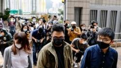 香港活動人士黃之鋒等人入獄 台灣朝野齊聲譴責