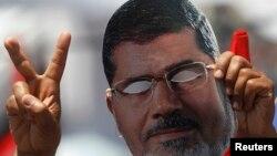 Manifestaciones musulmanas en favor del depuesto presidente Mohamed Morsi.