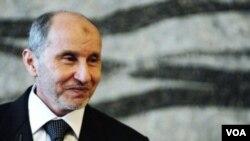 Pemimpin pemberontak Libya, Mustafa Abdul Jalil