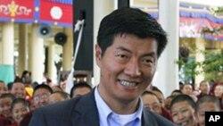 洛桑森格2011年3月20日參加西藏流亡政府總理選舉