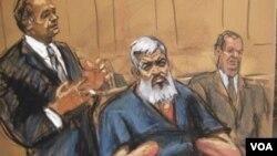 ນັກສອນສາສະໜາອິສລາມ Abu Hamza ທີ່ມີອີກຊື່ນຶ່ງວ່າ Mustafa Kamel Mustafa ໄດ້ຖືກສານຕັດສິນ ໃຫ້ຕິດຄຸກ ຕະຫລອດຊີວິດ.