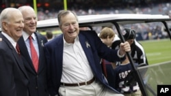 Una alarma en la casa de Houston del expresidente George H.W. Bush estuvo fuera de servicio por más de un año.