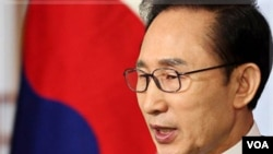 Presiden Korea Selatan Lee Myung-bak (Foto: dok).