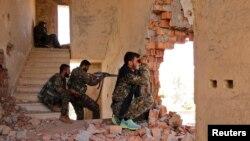Suriyadagi kurd jangchilari