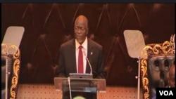 Rais wa Tanzania John Magufuli alipohutubia bunge la nchi hiyo.