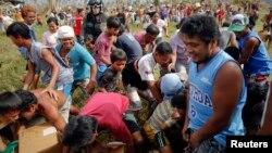 菲律賓災區民眾仍然須要救援。(資料圖片)
