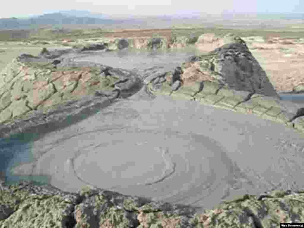 Azərbaycanda palçıq vulkanları