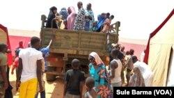 Ayyukan kwashe jama'a zuwa wani sansani a Nijer