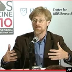 Mitchell Warren, AVAC, at AIDS Vaccine 2010