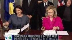 Presidentja Jahjaga pjesëmarrëse në takimin e Uashingtonit