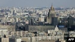 Высотное здание МИД Российской Федерации в Москве (архивное фото)