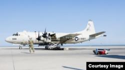 美军P-3C反潜机(美国海军网站截图)