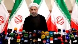 伊朗新當選總統哈桑-魯哈尼