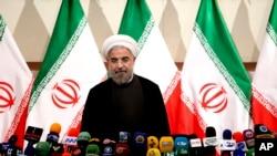 Novoizabrani iranski predsednik Hasan Rohani