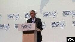 美国总统奥巴马(美国之音莉雅拍摄)