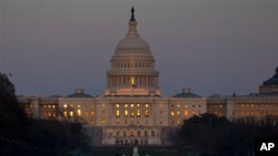 미국 워싱턴 국회의사당 건물