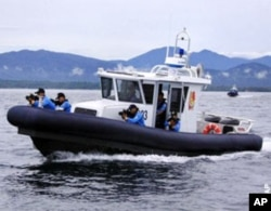 Special Boat Unit crews take part in an ICITAP training mission at Honda Bay, Philippines.