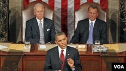 Presiden Amerika Barack Obama (24/1).