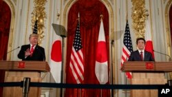 Presidente americano admite que chefe do Governo japonês seja medidar entre Washington e Irão