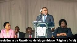 Filipe Nyusi, président du Mozambique, le 19 octobre 2016.