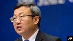왕쇼웬 중국 상무부 부장관 (자료사진)