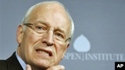 Former Vice President Dick Cheney speaks at third annual Washington Ideas Forum in Washington, October 2011. Cheney, 71, had a heart transplant March 24, 2012 after five heart attacks over the past 25 years and after waiting nearly two years for his new h