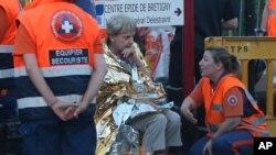 """El presidente de Francia, Francois Hollande, expreso """"solidaridad con las familias de las víctimas""""."""