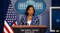 美國總統國家安全事務助理蘇姍賴斯7月22日資料照。