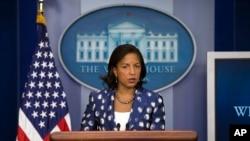 白宫国安顾问苏珊·赖斯 (资料照片)