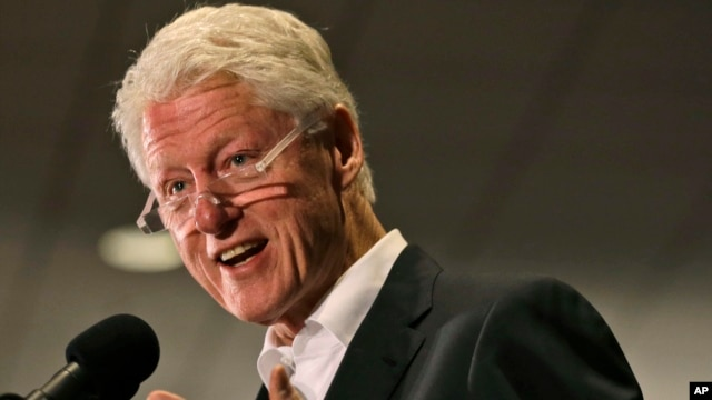 Former President Bill Clinton, Oct. 29, 2013.