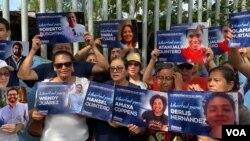 El gobierno de Daniel Ortega ha puesto tras las rejas a decenas de personas tras las protestas que comenzaron en el 2018 contra su mandato.