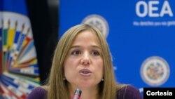 Dra. Betilde Muñoz-Pogossian, Directora del Departamento de Inclusión Social en la OEA.