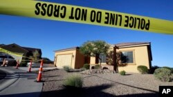 خانه استفان پداک، مهاجم تیراندازی مرگبار لاس وگاس