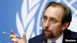 Zeid Ra'ad Al Hussein denuncia crimes