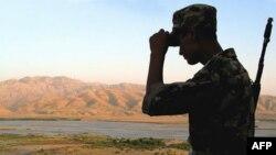 Tojik-afg'on chegarasida bir jangari o'ldirilgan, yana bir yaralangan
