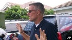 Keith Stansell uno de tres estadounidenses secuestrados por las FARC en Colombia en 2003, liberados por Ejército colombiano 2008