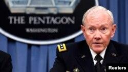 ژنرال ماترین دمپسی رییس ستاد مشترک نیروهای مسلح ایالات متحده آمریکا