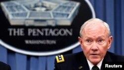 Ketua Kepala Staf Gabungan dan perwira militer tertinggi di AS, Jenderal Martin Dempsey (Foto: dok).